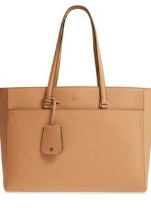 New Tory Burch Robinson Leather Tote